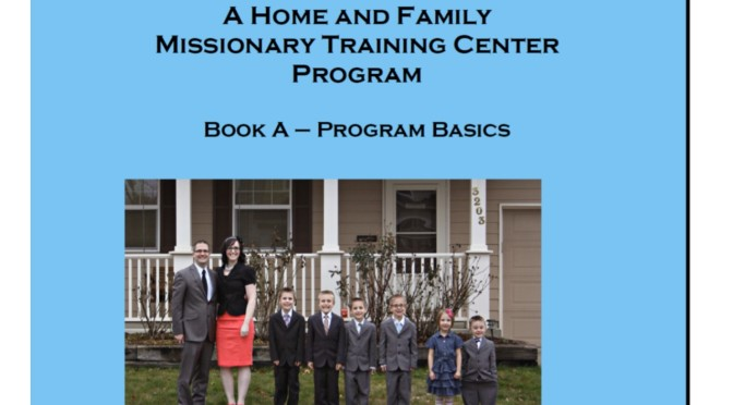 Getting Started with the Missionary in Training Program